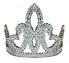 Diadema argentato da principessa