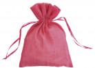 Confezione di 6 sacchetti di cotone fucsia