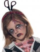 Cerchietto con forbici Halloween bambini