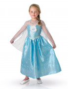 Costume la regina delle nevi deluxe  elsa frozen per bambina