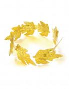 Corona di alloro dorata