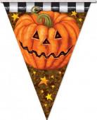 Ghirlanda a forma di zucca Halloween