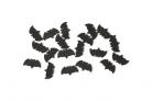 Coriandoli neri a forma di pipistrello