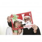 Kit photobooth kiss me per Natale