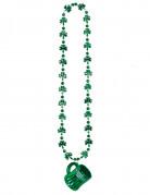 Collana con ciondolo a forma di boccale di San Patrizio