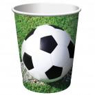 8 Bicchieri Calcio