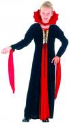 Costume lungo da vampiro per bambina