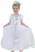 Costume principessa bianca bimba