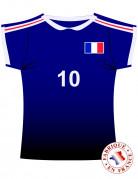Maglietta Francia con numero 10