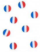 Coriandoli da tavola con bandiera della Francia