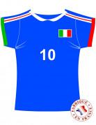 Bellissima decorazione Maglietta Italia
