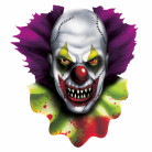 Decorazione Halloween clown horror