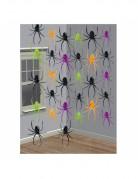 Decorazioni con ragni colorati da appendere