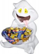 Fantasma di Halloween porta caramelle