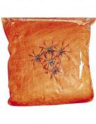 Finta ragnatela di colore arancione