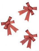 Decorazione pacchetti fiocchetti rossi