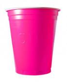20 Bicchieri di plastica Original Cup rosa
