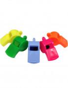 4 fischietti di vari colori