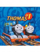 20 tovaglioli in carta con licenza il trenino Thomas™