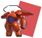 Confezione da 6 Cartoncini d'invito Big Hero 6