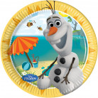 8 Piatti usa e getta Olaf Frozen™