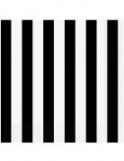 16 tovaglioli di carta bianchi e neri 33 x 33 cm