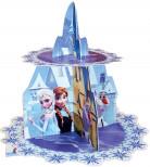 Alzata per cupcakes in cartone di Elsa Frozen™