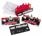 8 inviti di compleanno con buste One Direction™
