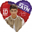 Palloncino alluminio Zayn One Direction™