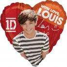 Palloncino alluminio Louis One Direction™