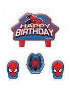 Set di 4 candeline di Spiderman™