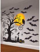 Decorazioni murali Cimitero per Halloween