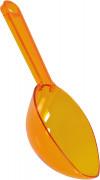 Paletta arancione per caramelle