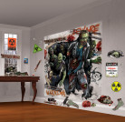 Confezione con due poster di zombi per Halloween