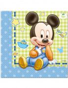 20 Tovagliolini di carta originali baby Mickey™