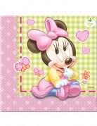 20 Tovaglioli usa e getta Baby Minnie Disney™