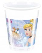 8 bicchieri di plastica di Cenerentola™