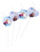 6 cannucce cuori e fiocchi bli Frozen™
