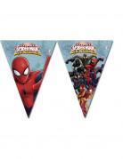 Ghirlanda Spiderman™formata di bandierine
