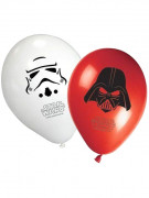 8 Palloncini in lattice Star Wars™