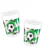 10 bicchieri di plastica Goal