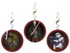3 decorazioni circolari da appendere in tema Star Wars Rebels™