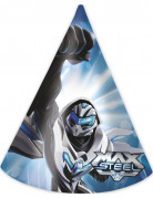 6 Cappellini Max Steel™di carta