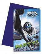Lotto di 6 cartoncini d'invito di Max Steel™