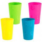 Bicchiere di plastica in stile hawaiano
