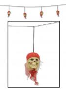Ghirlanda pirata con teschi