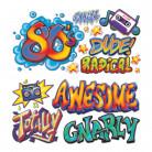 15 Decorazioni Graffiti anni '80