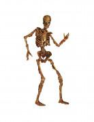 Decorazione scheletro di cartone per Halloween