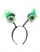 Un cerchietto con gli occhi verdi per Halloween
