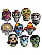 10 decorazioni in cartone per Halloween